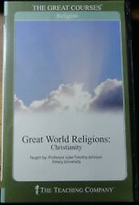 2003 - 6 CD Audio Course - Great World Religions-Christianity- The Teaching Co.