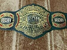 RING OF HONOR WORLD Wrestling Championship Belt.Adult Size.