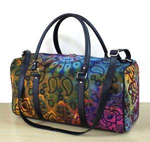 Duffle Sports Gym Bag Travel Bags Multicolor Star Floral Mandala Unisex Handbags
