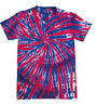 Colortone Kids Rainbow Handed Dyed Tie-Dye Short Sleeve Colourful T-Shirt New