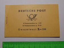 DDR Markenheftchen Walter Ulbricht 1962 Mi MH 4a1 mit Farbverklecksung Butzen