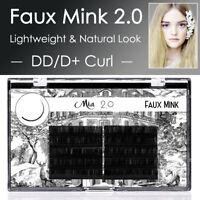 DD/D+ Curl Mia 2.0 Faux Mink Lash Semi Permanent Individual Eyelash Extension