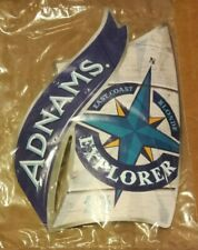 Beer pump clip badge front ADNAMS brewery EXPLORER real ale NEW & SEALED suffolk