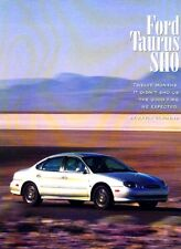 1997 Ford Taurus SHO Original Car Review Report Print Article J980