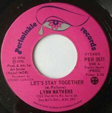 "Mainstream R&B/Soul 45RPM Speed 1970s Pop 7"" Singles"