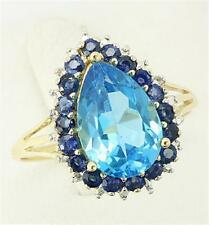 Blue Natural Sapphire Fine Rings