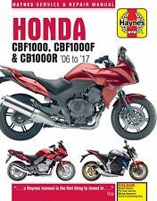 Honda CBF1000 2006-10 CBF1000F 2011-17 & CB1000R 2008-17 Haynes Manual 4927 NEW