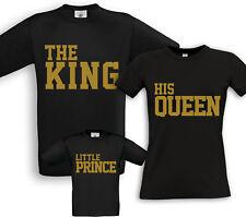 5XL Hoodie Family 3er Set King Queen Motiv Partner Look Viele Farben Gr XS
