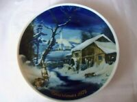 VINTAGE ROYAL BAYREUTH BAVARIA GERMANY CHRISTMAS PLATE 1974 3RD LIMITED EDITION
