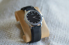 movado 84 g2 1855 with full diamond black dial mens watch