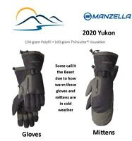 Manzella 2020 Yukon Best Ski Gloves and Mittens Rated Warmest - Super Fantastic