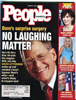 People Magazine January 31 2000 David Letterman Marie Osmond EX 012016jhe