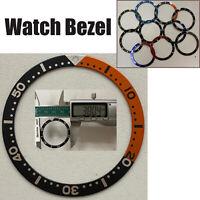 1* 38MM Aluminium Uhrenlünette Einsatz Ring Ersatz für Armbanduhr Reparaturteil