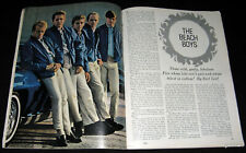 The Beach Boys 1964 Pictorial Fabulous Five Brian Dennis & Carl Wilson Mike Love