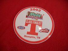 NHRA 2002 Lucas Oil Drag Racing Midsouth Nationals Memphis class finalist decal