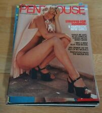 Mixed lot of 6 Vintage Men's Glamour magazines - Penthouse etc.