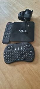 Mxq pro android box with qwerty pad