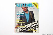 KEYBOARD MAGAZINE September 1985 Jan Hammer Miami Vice Casio CZ-5000 Bob Moog