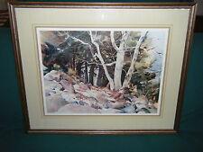 Raleigh Kinney: East Valley Sycamores Arizona Ltd Ed Studio Print 96/200