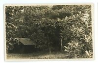 RPPC Birthplace of Red Jacket BRANCHPORT NY Yates County Real Photo Postcard 1