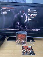 TEKKEN 6 Playstation 3 game (PS3) Tested & Complete