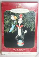 Hallmark Keepsake Ornament The Cat in the Hat 1999 Dr. Seuss Books #1 In Series