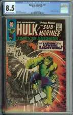 Tales To Astonish #97 CGC 8.5 Hulk Sub-Mariner Plunderer