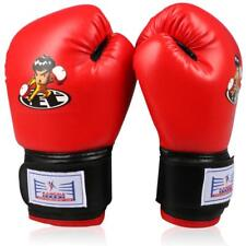 Boxing Gloves Mma Sparring Muay Thai Wraps Training Fist Bag Mitts Inner Leather