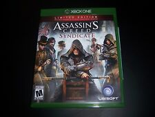 Replacement Case (NO  GAME) ASSASSIN'S CREED SYNDICATE XBOX ONE 1 XB1 ORIGINAL