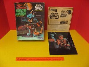 1974 MPC WALT DISNEY'S HAUNTED MANSION GRAVE ROBBER'S REWARD ZAP/ACTION BOX +
