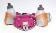 New Nathan Trail Mix Plus Waist Pack Belt with Flasks - Pink/Orange