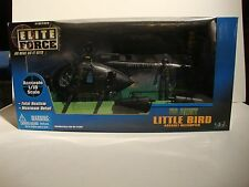 BBI ELITE FORCE 1:18 US ARMY MH-6 LITTLE BIRD ASSAULT HELICOPTER  **NIB**