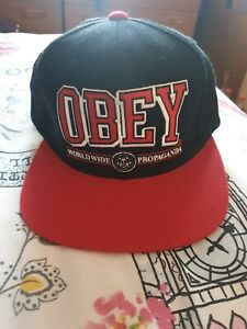 Obey Snapback Cap Hat