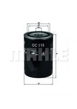 Ölfilter für Schmierung KNECHT OC 118