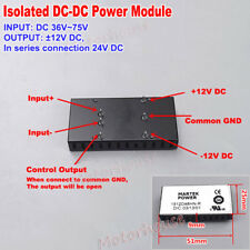 DC-DC 36V~72V 48V 60V to ±12V 24V Step Down Converter Buck Power Supply Module
