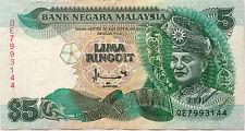 RM5 Ahmad Don sign Note QE 7993144