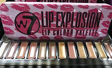W7 Lip Explosion Palette - Lipstick 12 Colours Gloss