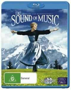 The Sound of Music BLU RAY + DVD (3 Disc Set) Region 1 USA Release