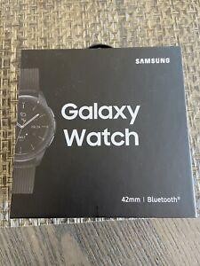 New Sealed SAMSUNG GALAXY Watch SM-R810 42mm Bluetooth Wifi -Black