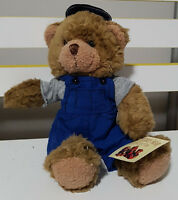 TEDDY BEAR COLLECTION PLUSH TOY ABOUT 18CM SEATED! MATT MECHANIC KIDS SOFT TOY!