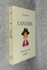 VOLTAIRE. CANDIDE OU L'OPTIMISTE. AQUARELLES DE DUBOUT. 1957.