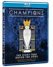 Leicester City FC: Premier League Champions: 2015/16 Season Review: New Blu-Ray