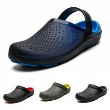 Men Mules Slipper Nursing Garden Beach Sandals Hospital Non-slip Rubber Shoes @