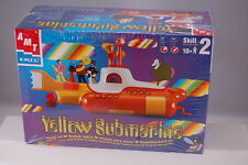 Yellow Submarine Beatles AMT MODEL KIT Reissue Same as 60s dif Box Free Ship
