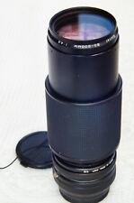 80-200mm ZOOM LENS KIT for OLYMPUS & PANASONIC Micro 4/3 cameras.    ....Vivitar