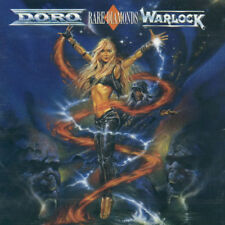 DORO & WARLOCK: RARE DIAMONDS CD! 1991 VERTIGO GERMANY PRESSING 848 353 - 2! EX