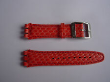 SWATCH HIRSCH strap NEVER PRODUCED PROTOTYPE - IRONY CHRONO 5 NEW band cinturino