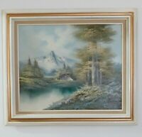 Original Oil Painting on 20 x 24 Canvas, Framed, Signed by Artist. Landscape