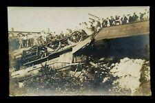 1911 Mint Train Wreck Westerly Rhode Island Depot Real Photograph Postcard