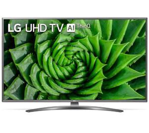 """LG 50UN81003LB TV COLOR 50"""" LED UltraHD 4K Smart TV WiFi 3HDMI DVB-T2/S2 BLACK"""